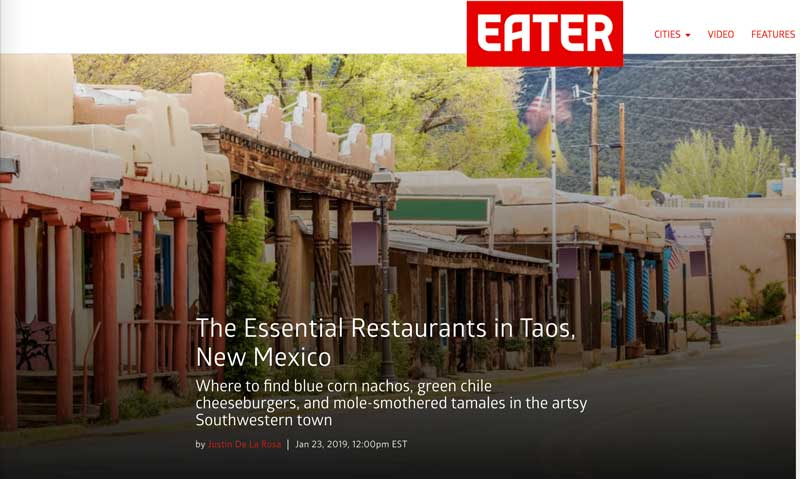 Write up from Eater.com